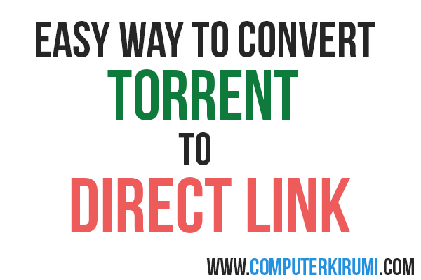 torrent to direct link