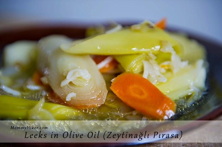 Leeks in Olive Oil (Zeytinyağlı Pırasa)