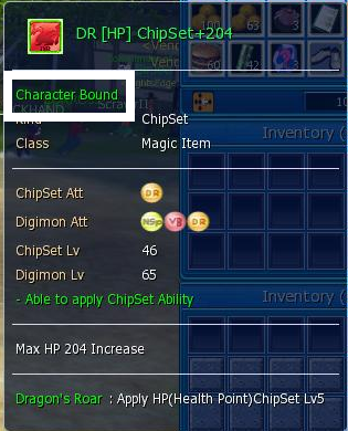 digimon masters online chipset, dragon roar, dr