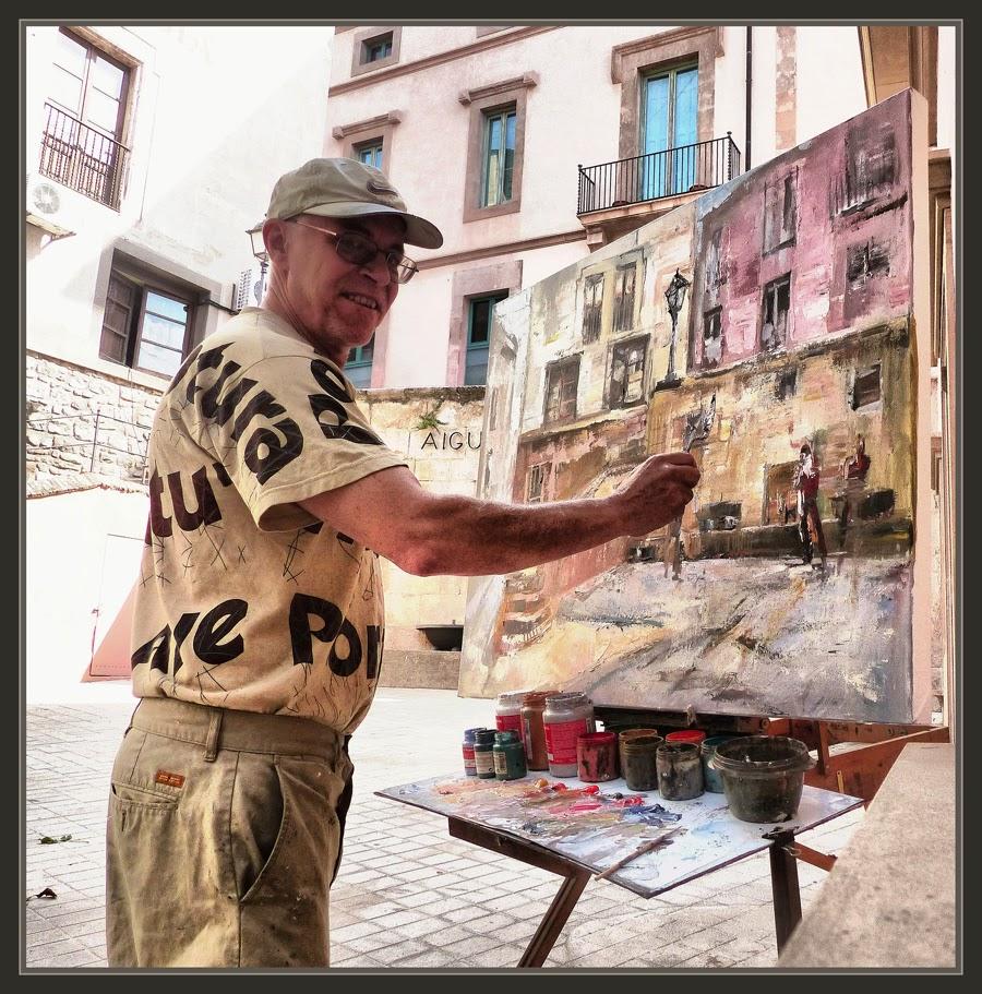 Ernest descals artista pintor moi pintura paisatges font - Trabajo de pintor en barcelona ...