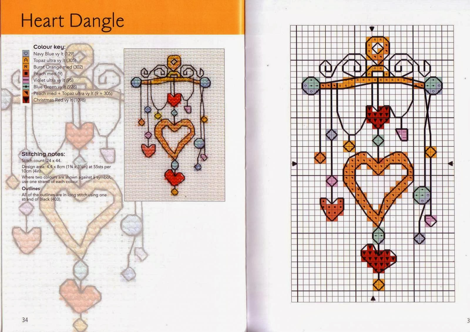 Схемы вышивки от Майкла Пауэлла. Домики крестиком - Pinterest 57