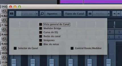 mixer cubase 7