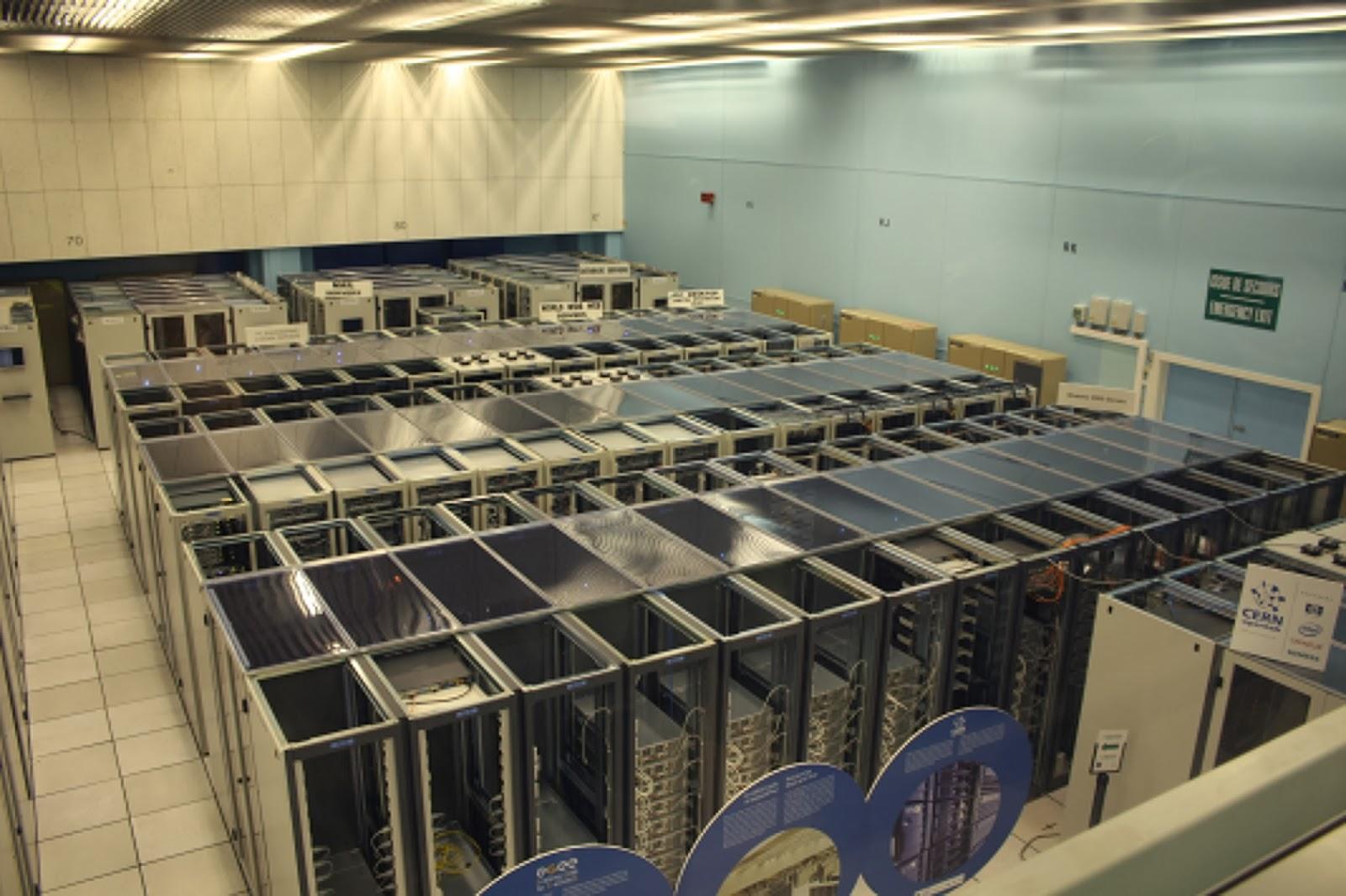 Mysticodes Google Server Room