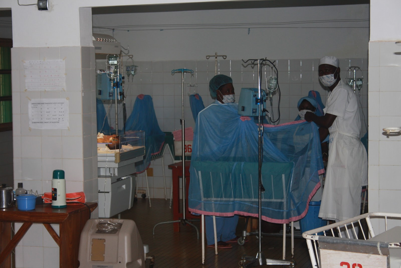 Vacances solidaires au b nin service de p diatrie h pital d 39 abomey jeudi 9 ao t - Chambre sterile pour leucemie ...