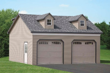 Breezeway Attached Garage And 2 Car Detached