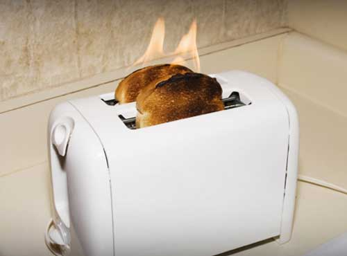 Toaster On Fire ~ June th presidential politics trump