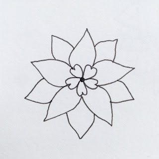 MagaMerlina Mandala Flower Tutorial
