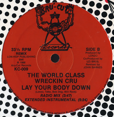 World Class Wreckin' Cru ‎– Lay Your Body Down (VLS) (1988) (320 kbps)