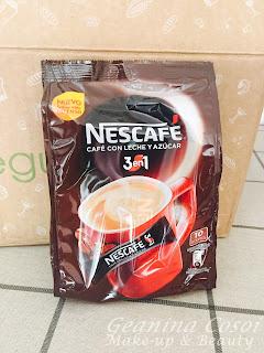 nescafe 3en1 degustabox septiembre 2015