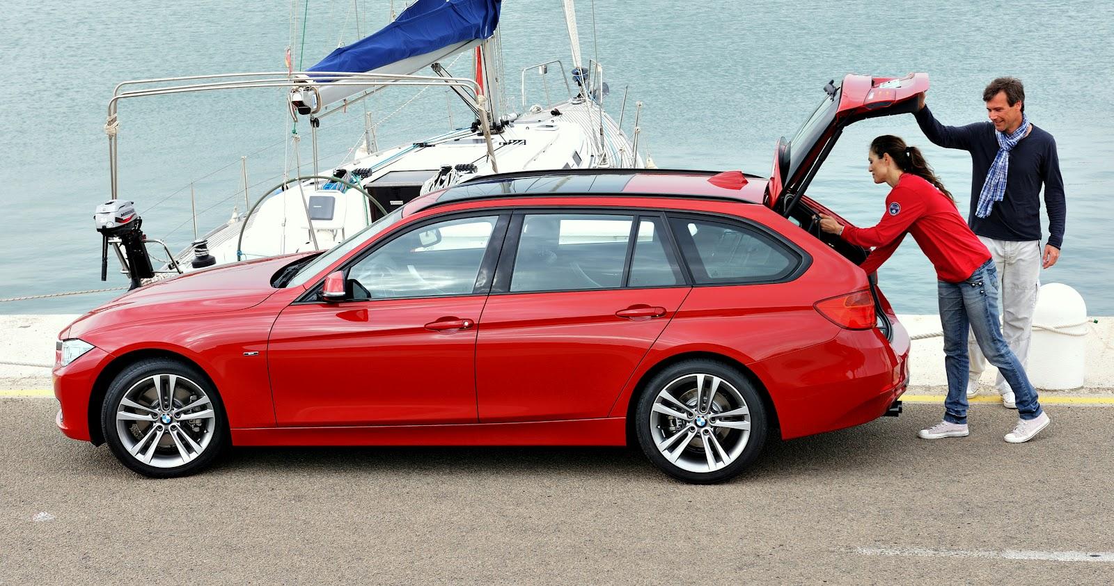 Uautoknownet Allnew BMW Series Sports Wagon Debuts - Bmw 3 series sport wagon