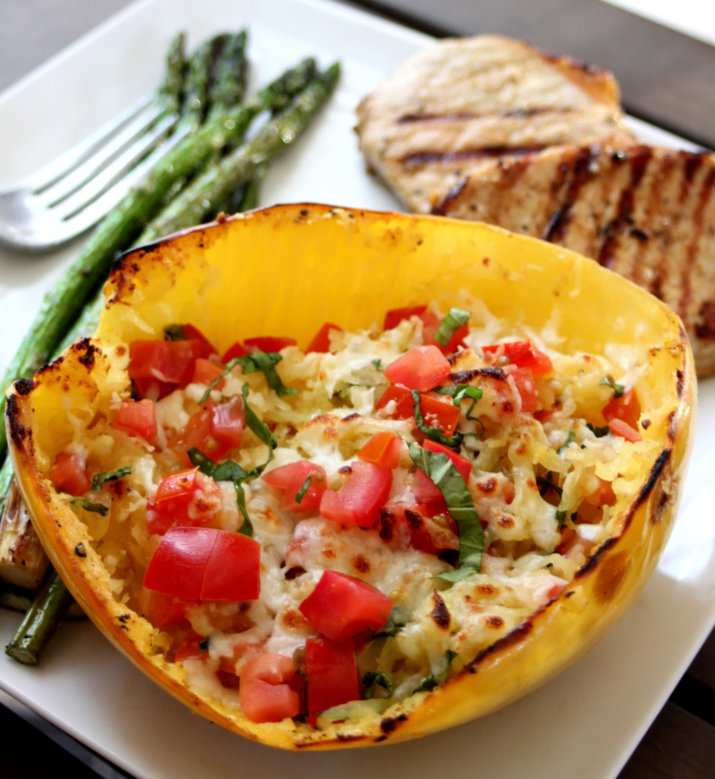 Phoenix family foodie blog gluten free goodness baked for What to make with spaghetti squash