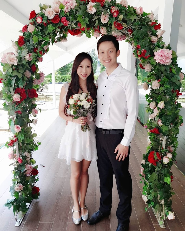 Dr VT & Sara Shantelle Lim's Registrar of Marriage ROM