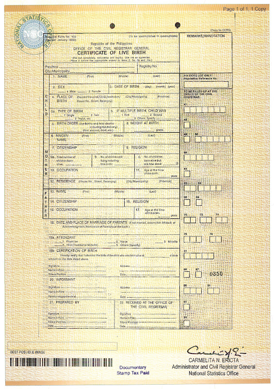 alaska birth certificate security features