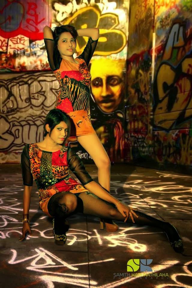 Model Oshie Tehania- Nilu Tanasha