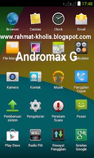 ROM Kitkat Andromax G