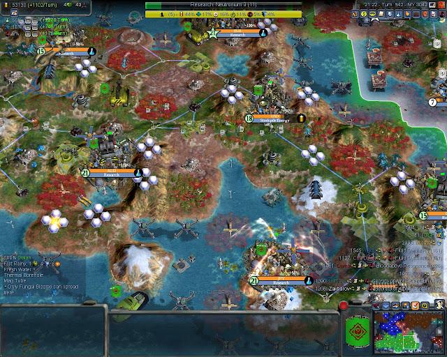 Civilization 4: Planetfall Mod - Maglevs Screenshots