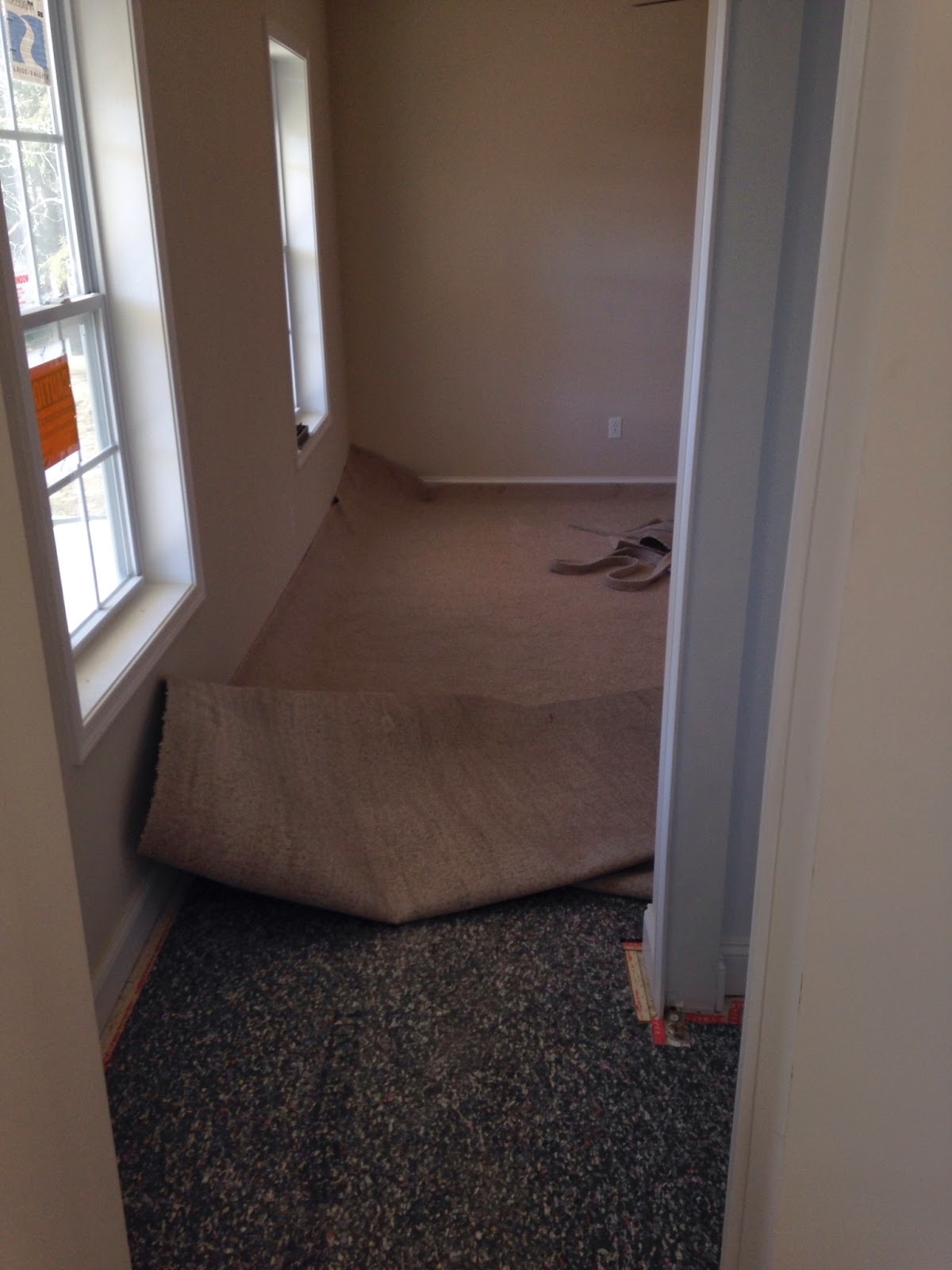 Building with Wayne Homes in New Castle PA: Carpet Installation in ...