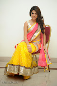 Shraddha das photos in Saree at Rey audio launch-thumbnail-19