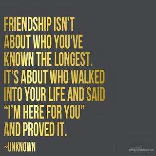 While I'm Waiting...friendship