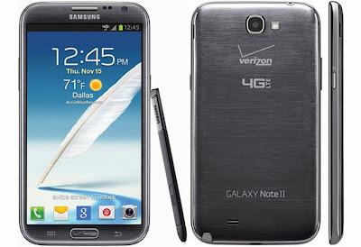 Samsung Galaxy Note II CDMA Pic