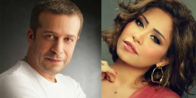 حبس الفنانة شيرين عبد الوهاب 6 أشهر لتعديها على شريف منير