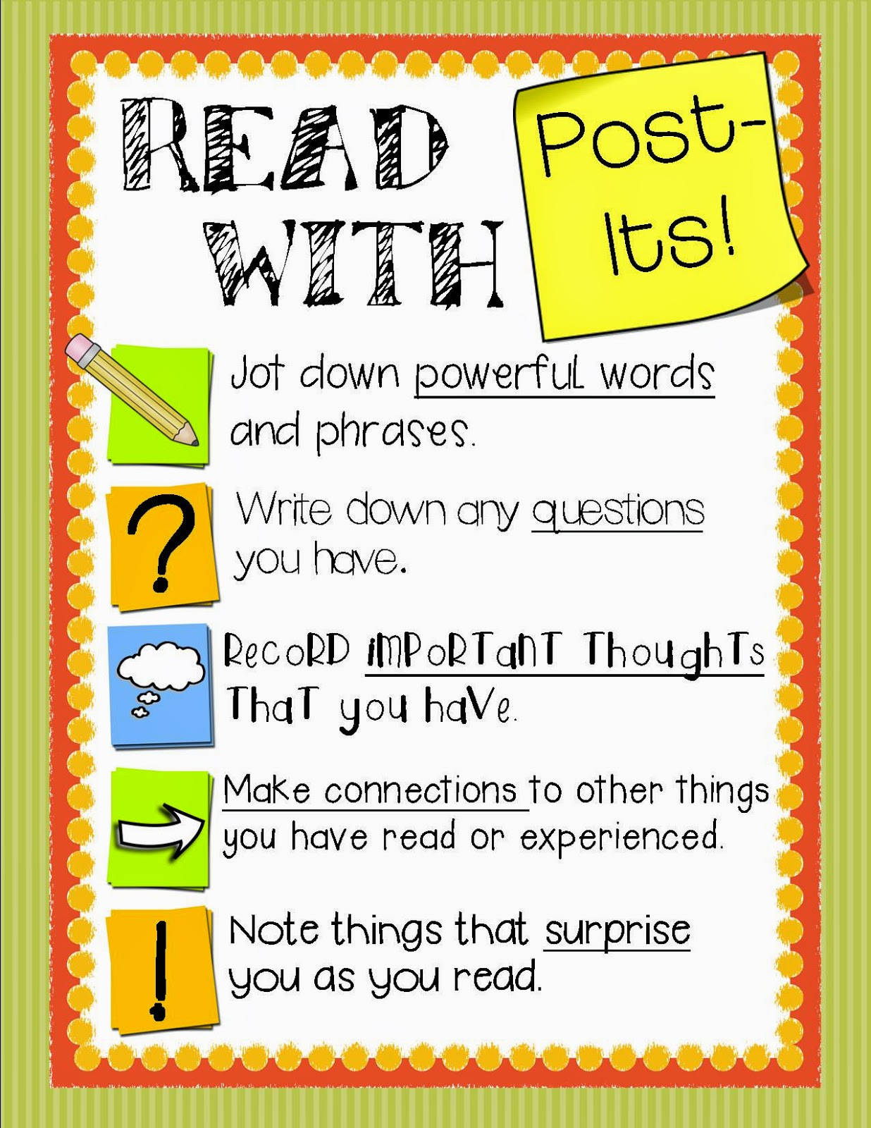 https://www.teacherspayteachers.com/Product/Reading-With-Post-Its-A-useful-tool-for-Independent-Reading-FREEBIE-1704375