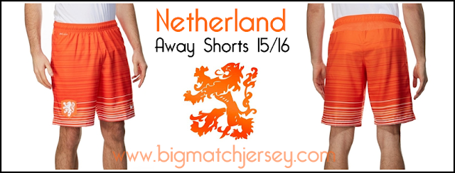 Nike Holland 2015 Away Shorts