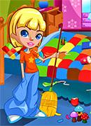Большая Уборка - Онлайн игра для девочек