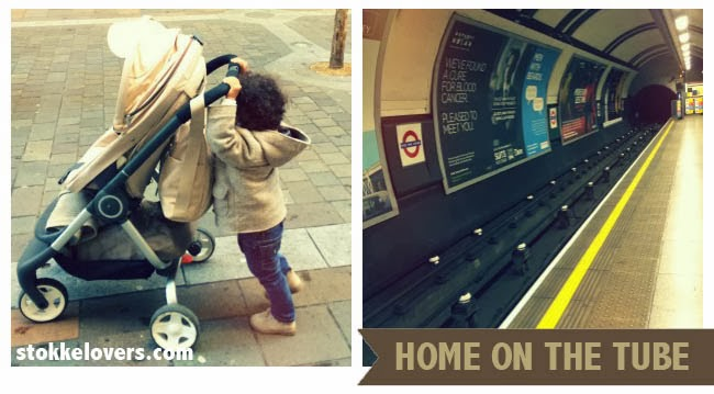 Stokke Scoot Lovin London Underground