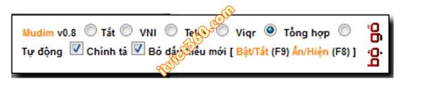 Mudim - Thêm bộ gõ tiếng Việt cho blogspot, thủ thuật blogspot