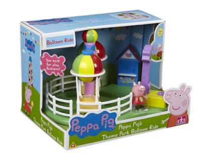 TOYS : JUGUETES - PEPPA PIG  Globos Voladores : Parque de atracciones | Balloon Ride  Producto Oficial Serie Television 2015 | Bandai | A partir de 3 años  Comprar en Amazon España & buy Amazon USA
