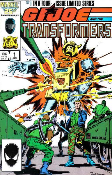 GI JOE Transformers bumblebee destroyed