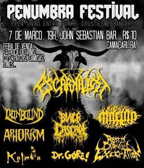 07-03-2015 - PENUMBRA FESTIVAL - Camaçari - BA