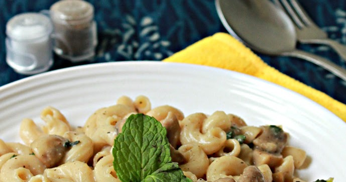 Aromatic CookingMinty Creamy Vegan Pasta