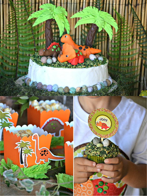 Dinosaur Birthday Party Ideas & Printables  Party Ideas  Party ...