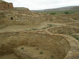 Kivas at Chaco Canyon, Photo by Kaliani Devinne, Copyright 2013