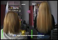 cabelo e aplicação