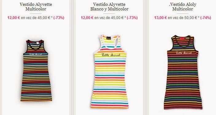 Vestidos por 12 euros para niñas