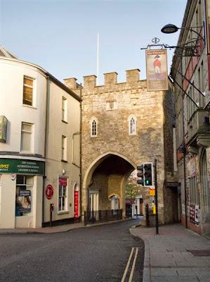 Puerta medieval de Chepstow