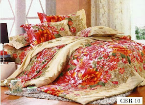 SET CADAR QUEEN + COMFORTER CBR