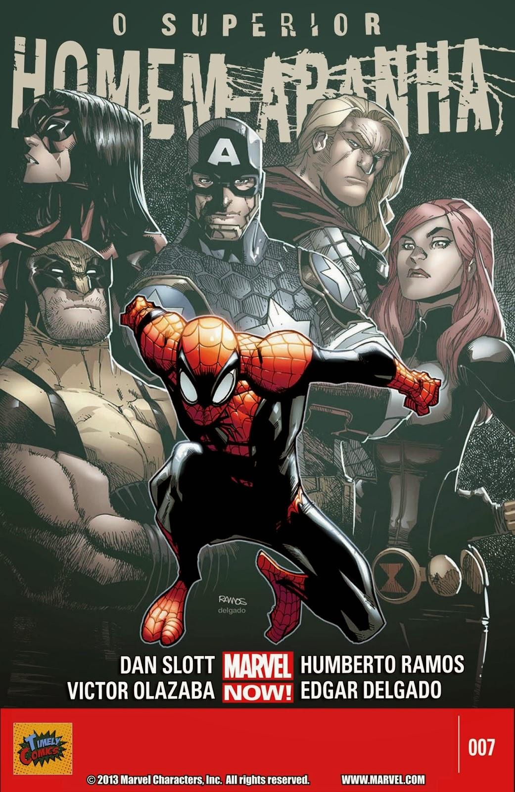 Nova Marvel! O Superior Homem-Aranha #7