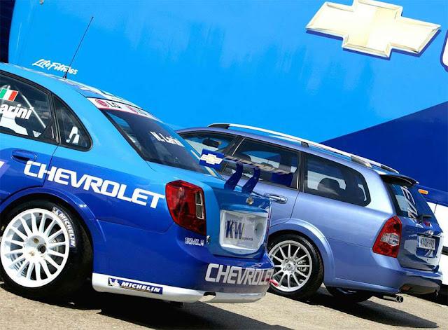 シボレー・オプトラ (ラセッティ) (ヌビラ) Chevrolet Optra/Lacetti/Nubira (2002-2011)