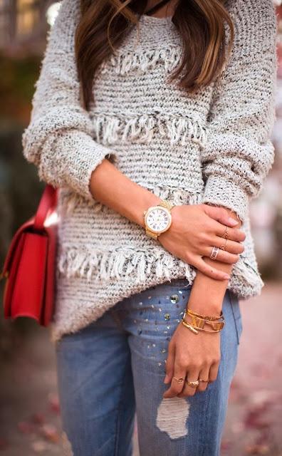 Stylish Wool Sweater