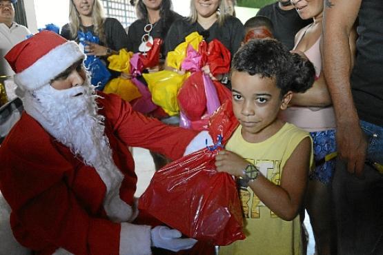 Na onda do Natal do Vila do Boa