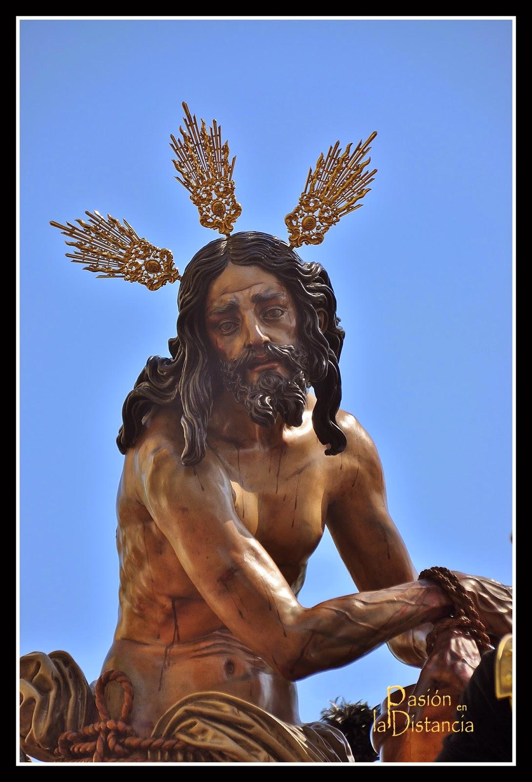 Señor atado a la columna de las Cigarreras Fotos Jueves Santo 2014