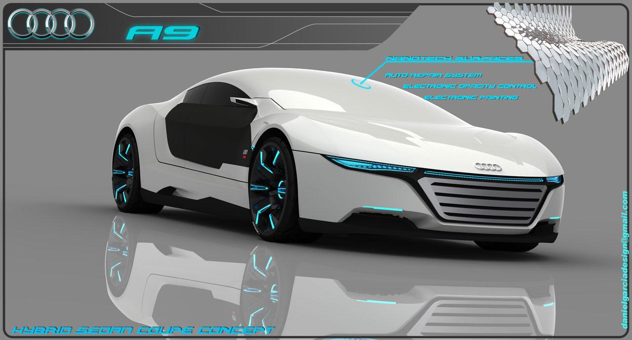 Sports Cars Audi A9 2012