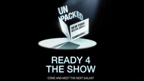 Uffiale: il nuovo smartphone top di gamma di Samsung sarà presentato il 14 marzo 2013 a New York