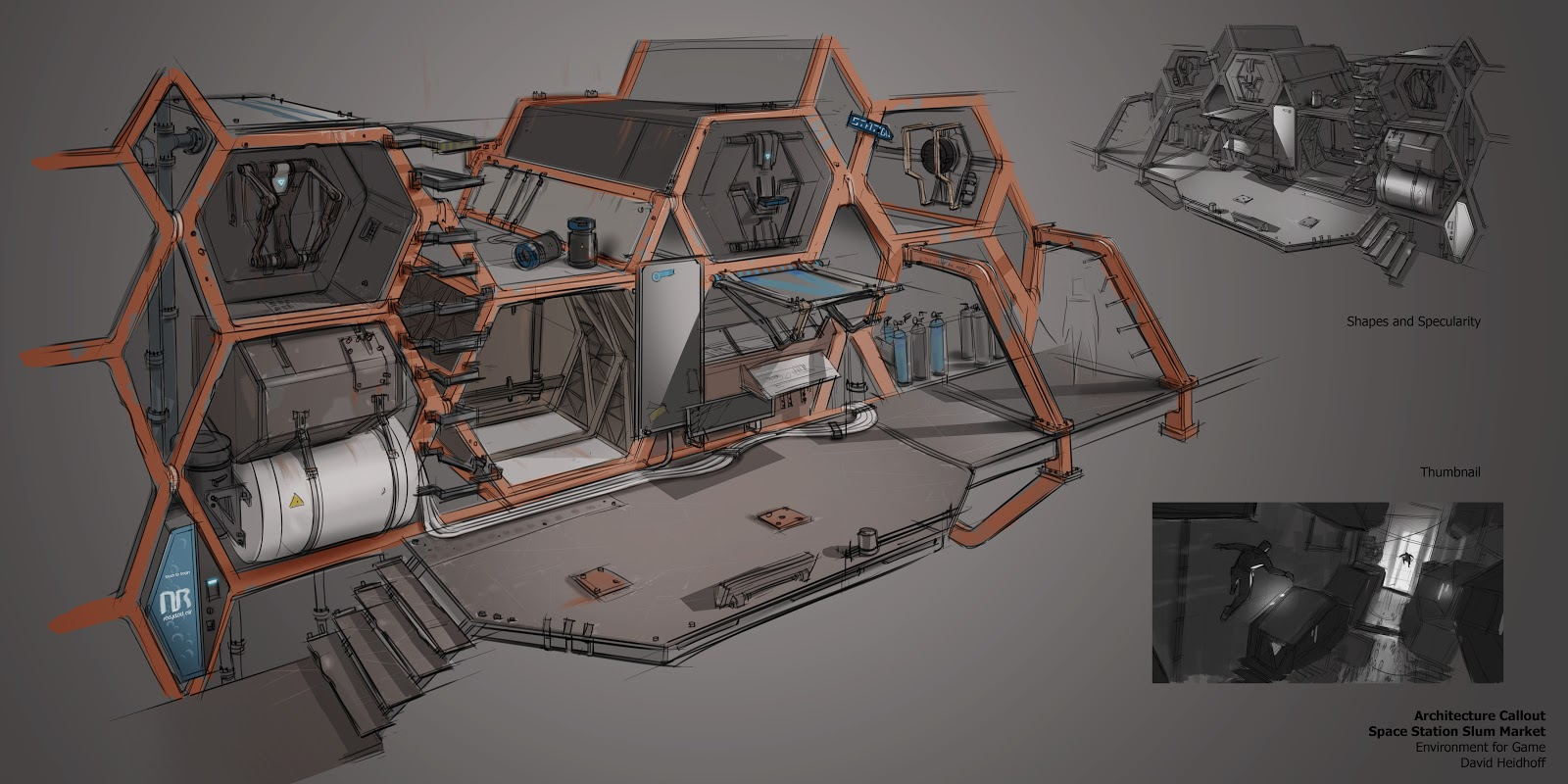 David heidhoff concept art blog space station slums for The concept of space in mamluk architecture