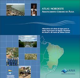 Atlas Nordeste: abastecimento urbano de água – Alternativas de oferta de água para as sedes municip