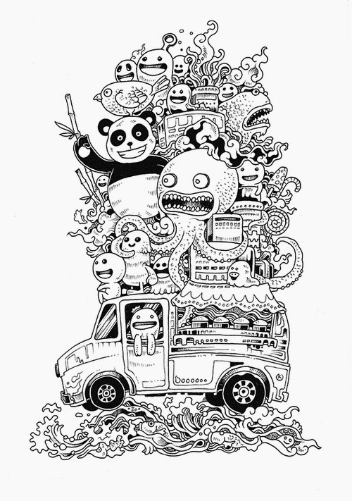 07-Filipino-Artist-Kerby-Rosanes-Doodle-Invasion-Drawings-www-designstack-co